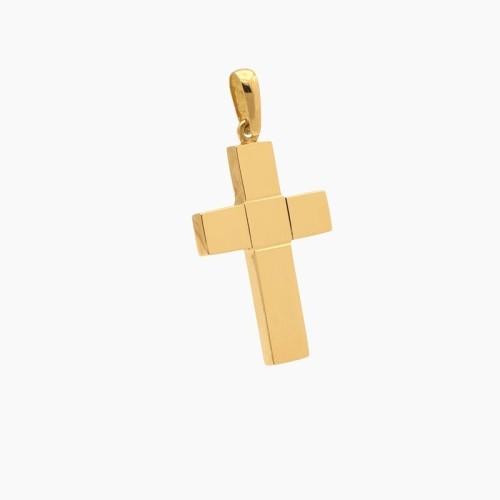 Cruz grande con centro cuadrado