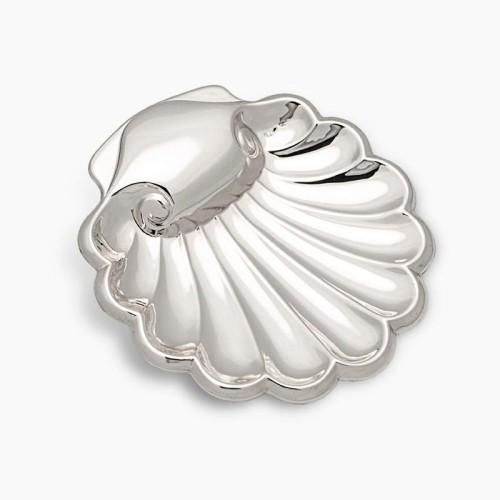 Concha de Bautismo de Plata con ondas - 1