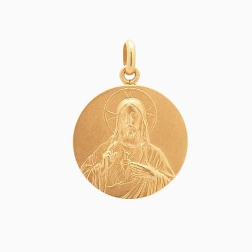 Medalla escapulario en oro de ley - 1