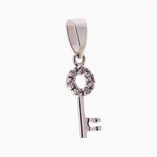 Colgante llave circular
